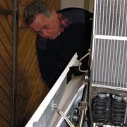 Reinigung und Kontrolle an der ASW 27, Foto: jkob