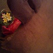©anelan spa.アネランスパ 枕元はその日の状態に合わせたアロマをセレクト