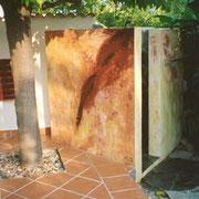 Außendusche Korsika, 2002