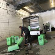 Müllkübelsaisonsreinigung