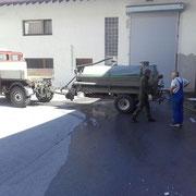 Drittleistung: Küchenabfalltanks leeren, Transport zur ARA 2016