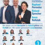 Die FDP Winterthur in den Kantonsrat (Quartiergruppe Oberwinterthur)