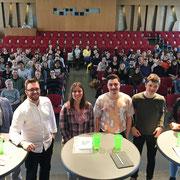 Podium an der Kantonsschule im Lee in Winterthur (12.03.2019)