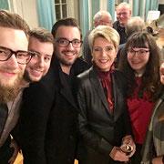 FDP-Bundesratsroadshow 12.11.2018     Ein Selfie mit Bundesrätin Karin Keller-Sutter