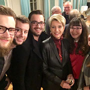FDP-Bundesratsroadshow 12.11.2018  |  Ein Selfie mit Bundesrätin Karin Keller-Sutter