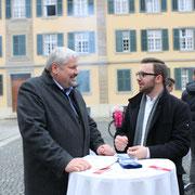 Im Gespräch mit Stadtpräsident Michael Künzle (06.01.2018)
