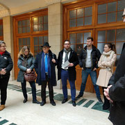 FDP Stadtspaziergang am 27.01.2018