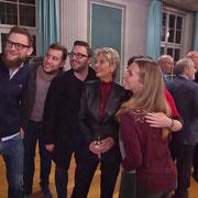 FDP-Bundesratsroadshow 12.11.2018  |  Ein Selfie mit Bundesrätin Karin Keller-Sutter im SRF