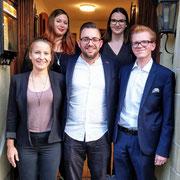 Der Vorstand der Jungfreisinnigen Winterthur (2019)