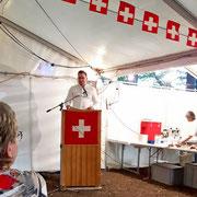 1. August-Festrede 2019 in Zell im Tösstal (ZH)