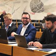 Erste Sitzung im Grossen Gemeinderat der Stadt Winterthur am 04.11.2019