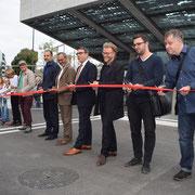 Eröffnung Gleisquerung Stadtmitte 23.09.2016 (Kesselhausplatz)