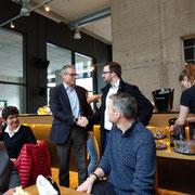 FDP Stadtspaziergang am 27.01.2018 mit Ständerat Ruedi Noser