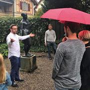 Kulturvermittlung im persönlichen Umfeld (Villa Flora, 2017)