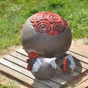 Runde Hühner - runde Eier