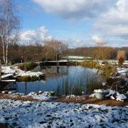 Am 19. Dezember liegt ein wenig Schnee