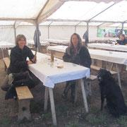 Auf dem Gallierfest in der Domaine des Druides