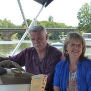 """Heinz & Evelyne - ihr """"Partyboot"""" steht auch meinen Gästen zur Verfügung"""
