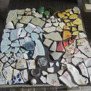 Mosaikteile aus dem Wald - Karla hat sie entdeckt