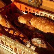 Die Bäckersfrau liefert fleissig in diesem Sommer