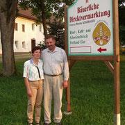 Betriebsleiter mit Hoftafel