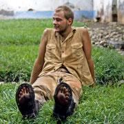 Robert after the Virunga Mountain hike
