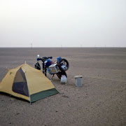 Camp In the Desert