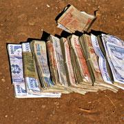 Uganda Shilling at a time when Uganda just got rid of Idi Amin