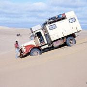 Desert Driving with Hanomag AL28 :-))