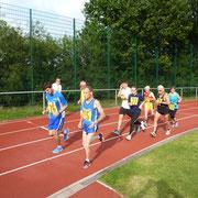 Start des 5 000m-Laufs