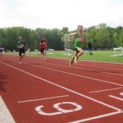 3. Platz im 100m Lauf