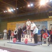 Cédric JOVELLAR Junior, - 100 kg Samedi 12 Avril 2008 à Chatellerault, 3ème au Championnat de France de Force-Athlétique.
