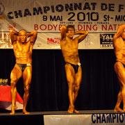 Samedi 08 Mai 2010 1er au Championnat de France de Culturisme à Angoulême