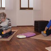 Yoga für Senioren YOGA freiraum Oberstimm / Ingolstadt