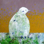 Sophie Bataille - Oiseau acrylique