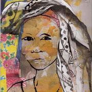 Sophie Bataille - Portrait collage