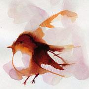 Sophie Bataille - Oiseau encre