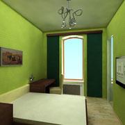 Darstellung eines weiteren Zimmers