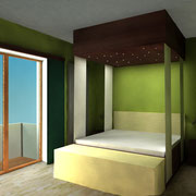 Darstellung einer Zimmervariante