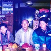 茨城の実家で祖父母と