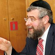 Pinchas Goldschmidt, Präsident der Europäischen Rabbinerkonferenz.    Foto: Serge Weinber