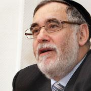 """Albert Guigui, Oberrabbiner und Sprecher der """"Orthodoxen Rabbinerkonferenz Europas"""".    Foto: Alexander  Beygang"""