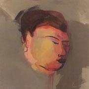 Schlafender Kopf-aus der Serie 12-Schlafende Köpfe