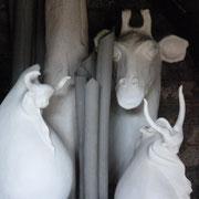 Enfournement du Noborigama de Caco et Sylvie - Bouquet de Flammes -