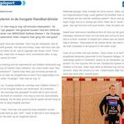 Sportmagazine036 nummer 21 (Yara ten Holte)