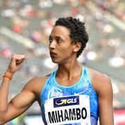 Malaika Mihambo, Deutsche Meisterin 7,16m in Berlin, Weltmeisterin mit 7,30m in Doha, Siegerin Diamond League 2019