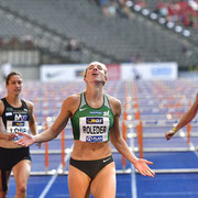 Cindy Rohleder Deutsche Meisterin 100m Hürden in Berlin 2019