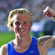 Gregor Traber Deutscher Meister 110m Hürden 2019 in Berlin