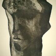 Portrait d'homme, 50x65, eau-forte et aquatinte