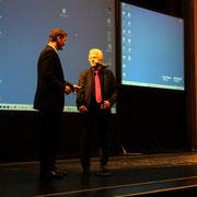 Markus Wortmann mit Horst Cerny (Weisser Ring e.V.).
